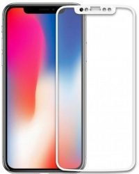 5D Стекло iPhone X (white)