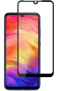Стекло Xiaomi Redmi Note 7 Full Glue (black)