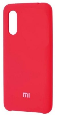 Накладка оригинальная Silicone cover Xiaomi Mi9 (silky & soft-touch) (red)