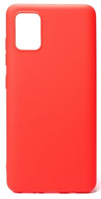 Накладка матовая Xiaomi Mi 10 Lite (silky & soft-touch) (red)