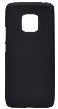 Накладка оригинальная Silicone cover Huawei Mate 20 Pro (silky & soft-touch) (black)