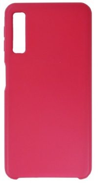 Накладка оригинальная Silicone cover Samsung Galaxy A50 (silky & soft-touch) (red)