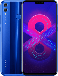 Смартфон Honor 8X 4/64Gb (blue) US