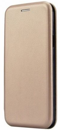 Чехол-книжка Samsung Galaxy S10+ Fashion Case 3D (gold)