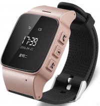 Smart Baby Watch EW100 (rose gold)