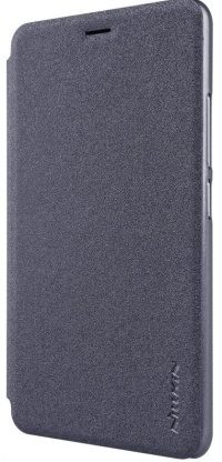 Чехол-книжка Nillkin Sparkle Leather case Meizu M6 Note (gray)