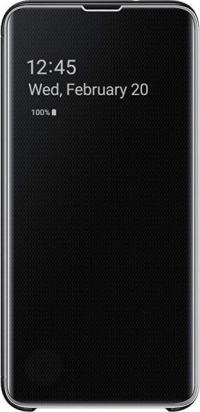 Чехол-книжка Samsung Clear View для Galaxy S10+ (black)