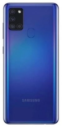 Смартфон Samsung Galaxy A21S 64Gb (blue) RU