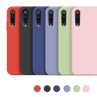 Накладка оригинальная Silicone cover Xiaomi Mi A3 (silky & soft-touch) (purple)