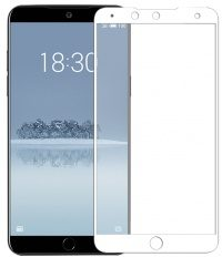 Стекло Meizu 15 Plus Full Screen (white)