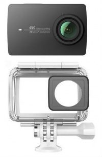 Экшн-камера Xiaomi YI 4K Action Camera + waterproof case (black)