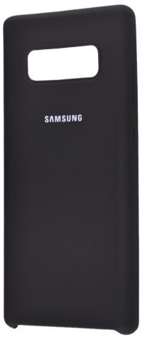 Накладка оригинальная Silicone cover Samsung Galaxy S10e (silky & soft-touch) (black)