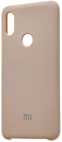 Накладка оригинальная Silicone cover Xiaomi Mi 9T (silky & soft-touch) (beige)